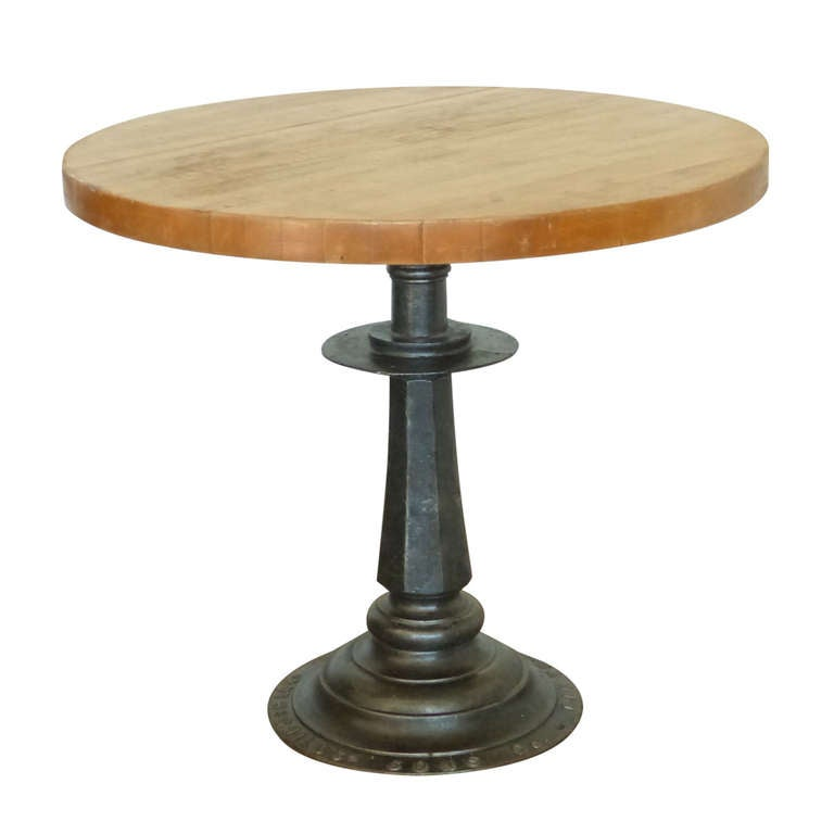 Small bistro table at 1stdibs for Furniture work table