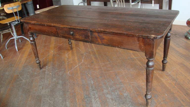 pine harvest table at 1stdibs