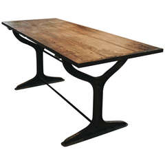 Cast iron Work Table or Island