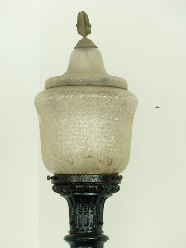 Cast Iron Street Light At 1stdibs