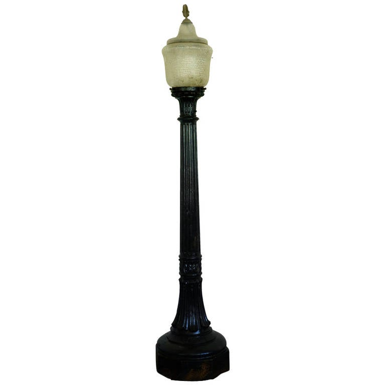 Cast Iron Street Light At 1stdibs