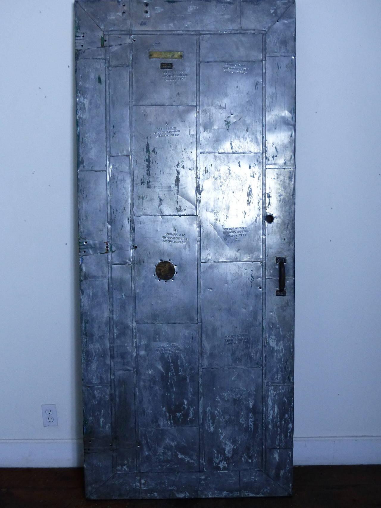 Industrial Fire Door At 1stdibs