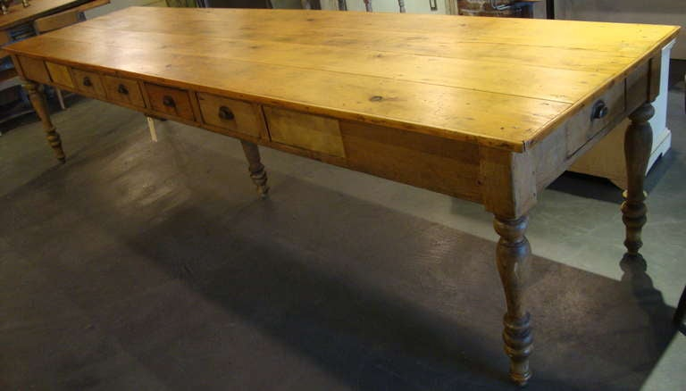 12 foot convent table at 1stdibs for 5 foot dining room table