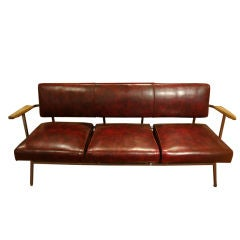 Vintage Three Seat Couch