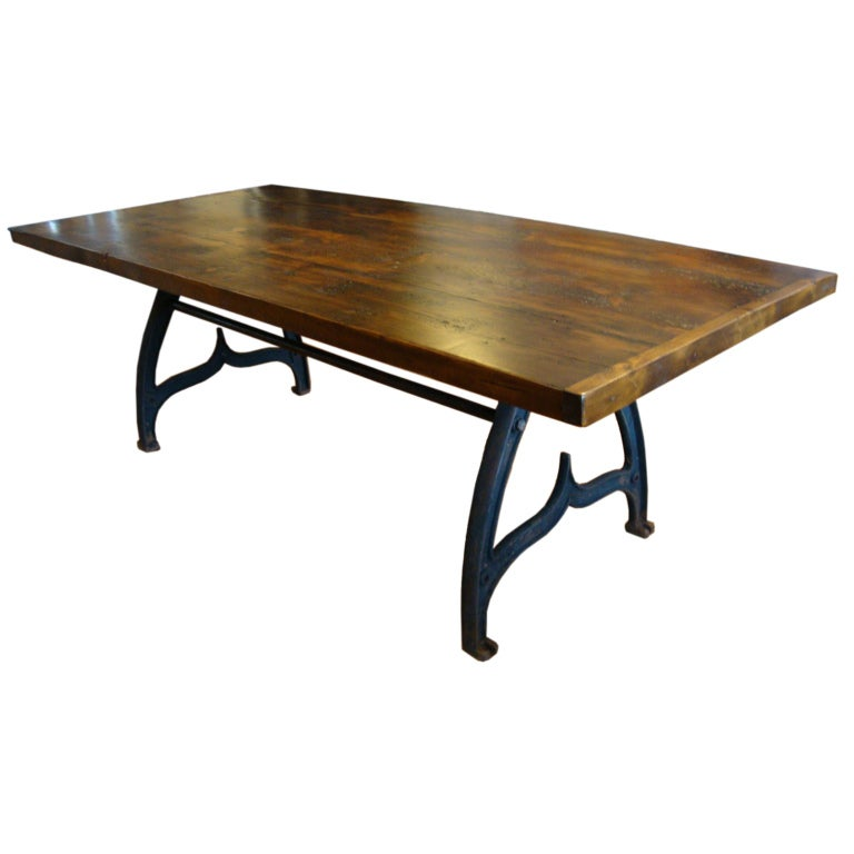 this industrial dining table is no longer available