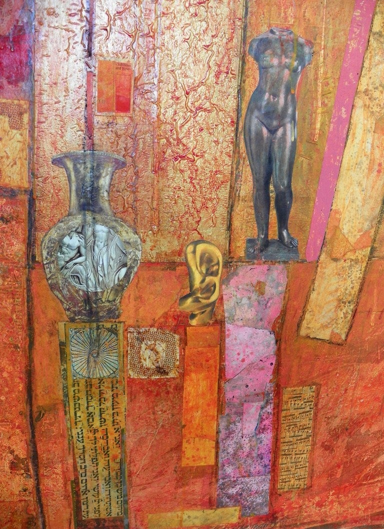 Large Patrick Archer Abstract Collage 2