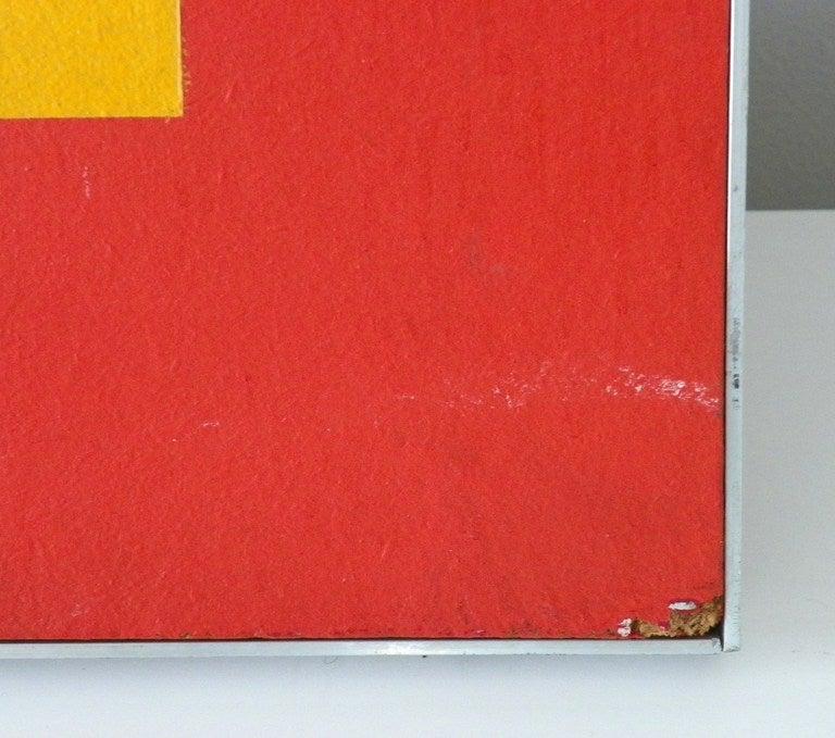 Jean dubois minimalist painting pop art at 1stdibs for Minimalist wall painting