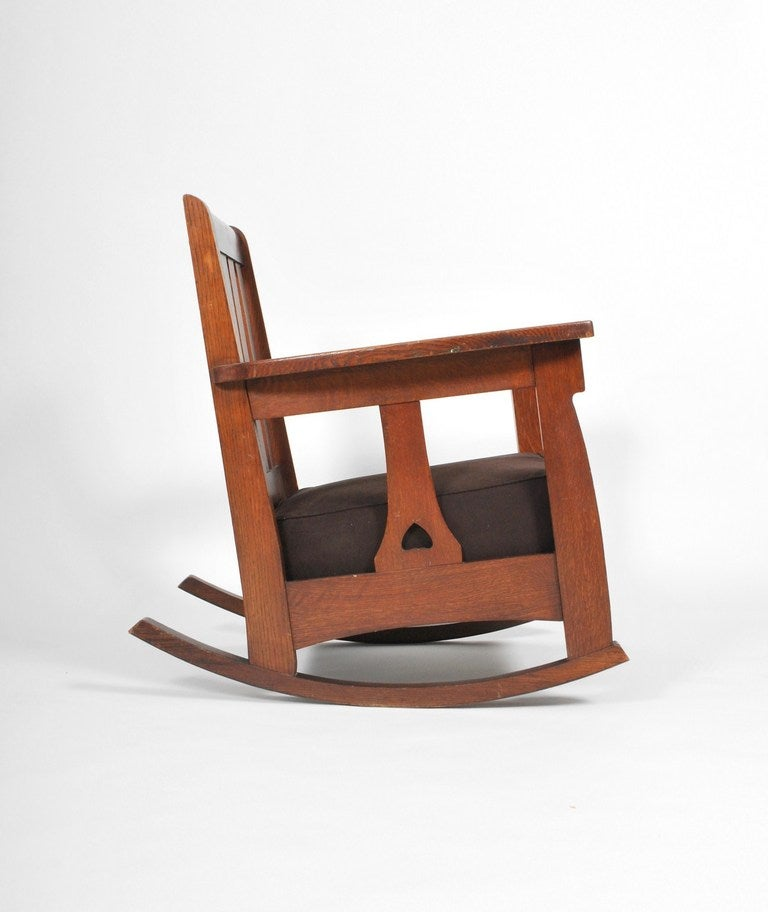 Charles Limbert Chair and Rocker at 1stdibs