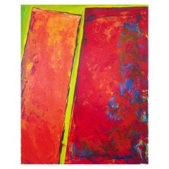Large Palmira Saehrig Abstract Painting