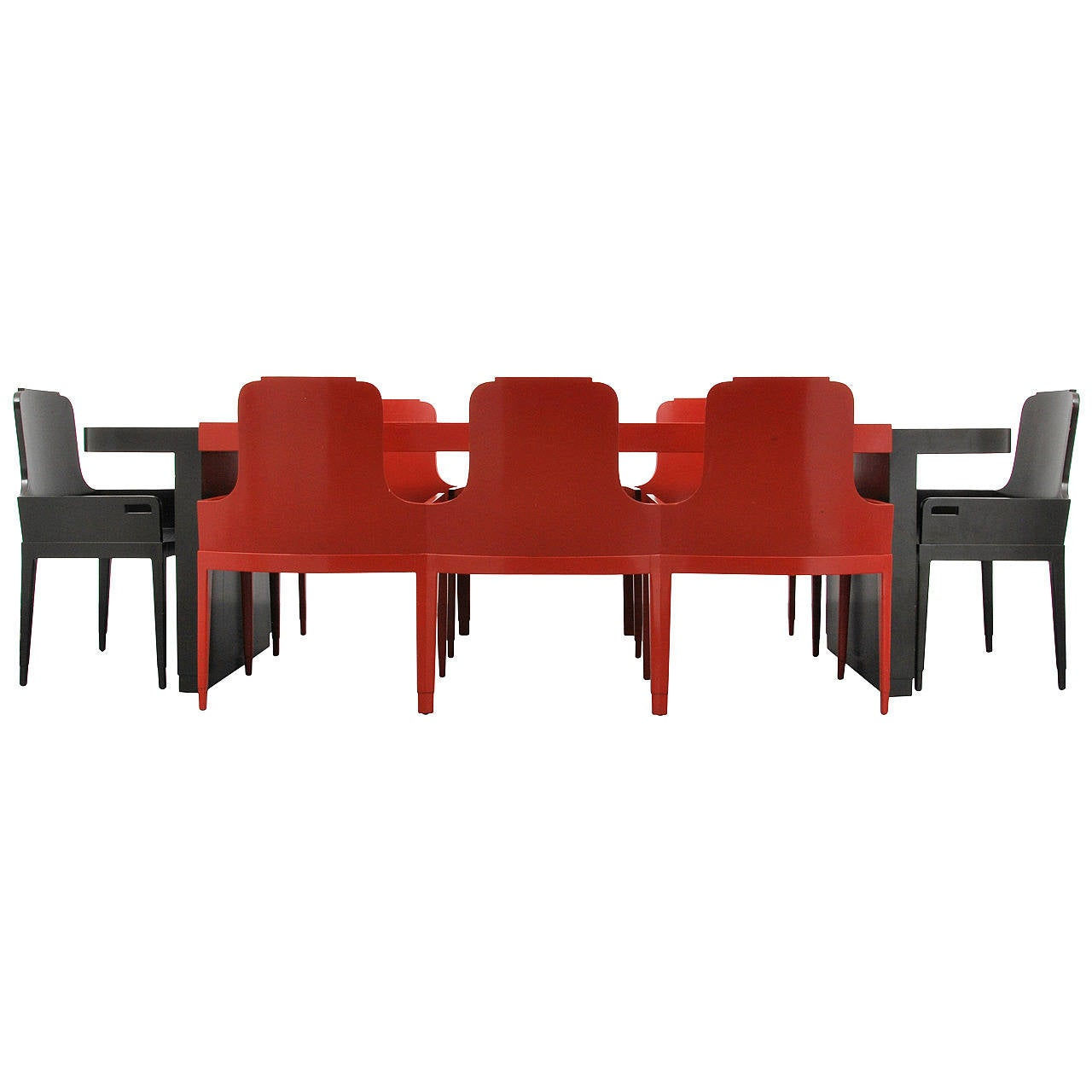 Jules Bouy Art Deco Dining Suite 1