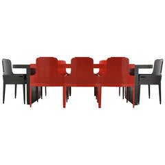 Jules Bouy Art Deco Dining Suite