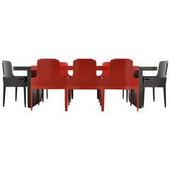 Jules Bouy Art Deco Dining Suite