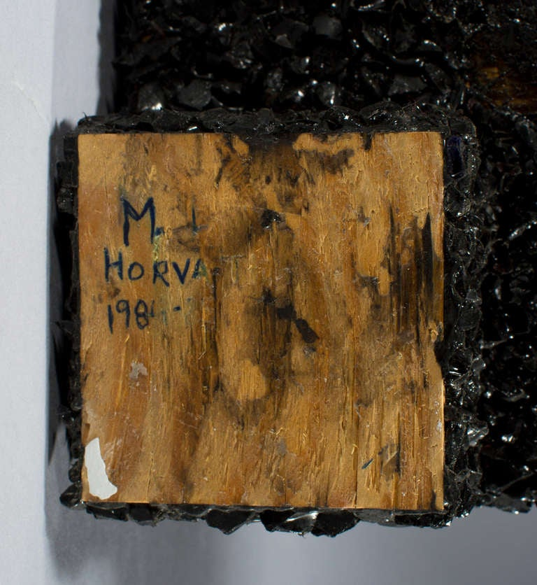 Sculpture Signed M. L. Horvath, Original Work In Good Condition For Sale In West Palm Beach, FL