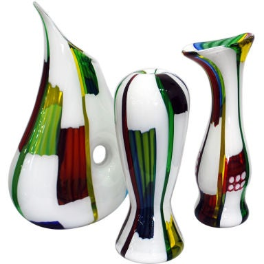 Collection of Anzola Fuga Vases