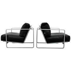 Pair of Alfredo W. Häberli & Christophe Marchand Lounge Chairs