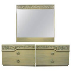 James Mont Dressers and Mirror