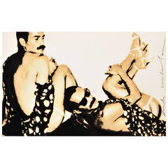 Andy Warhol Signed Silkscreen Over Photograph, 1978