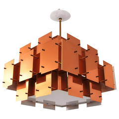 Large Robert Sonneman Chandelier