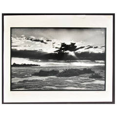 Early Peter Beard Gelatin Silver Print, Signed