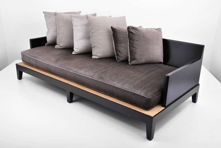 Christian liaigre sofa daybed 2 available at 1stdibs Daybed sofa couch