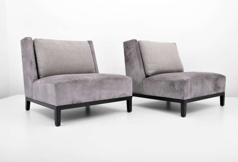 Pair Of Christian Liaigre Lounge Chairs 2 Pairs Available