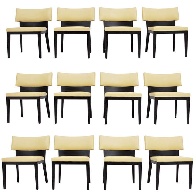 Set of Six 6 Christian Liaigre Dining Chairs