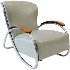 Fine & Rare  Lounge Chair by Kem Weber thumbnail 1
