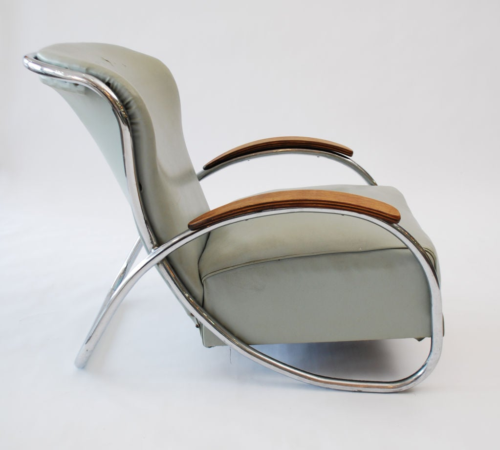 Fine & Rare  Lounge Chair by Kem Weber image 2