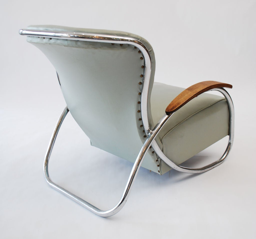 Fine & Rare  Lounge Chair by Kem Weber image 3