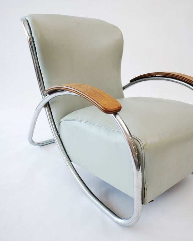Fine & Rare  Lounge Chair by Kem Weber image 4