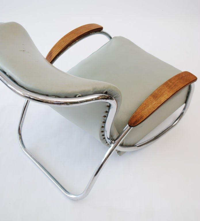 Fine & Rare  Lounge Chair by Kem Weber image 5