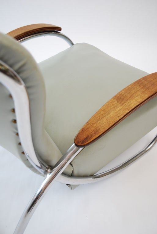Fine & Rare  Lounge Chair by Kem Weber image 6
