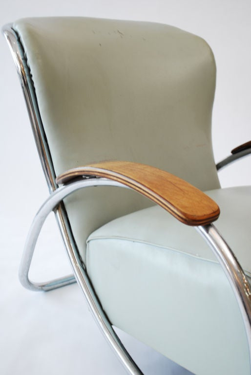 Fine & Rare  Lounge Chair by Kem Weber image 7