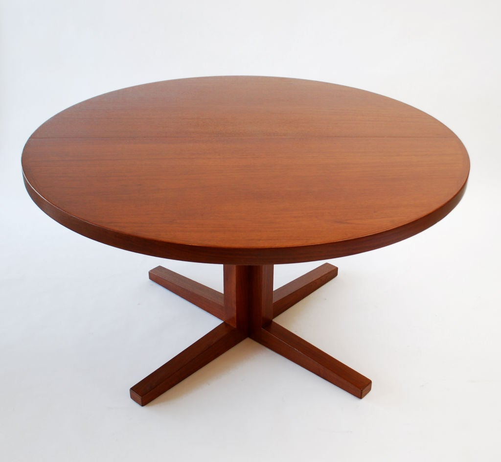 Dining table designed by john mortensen att at 1stdibs for Table th width ignored