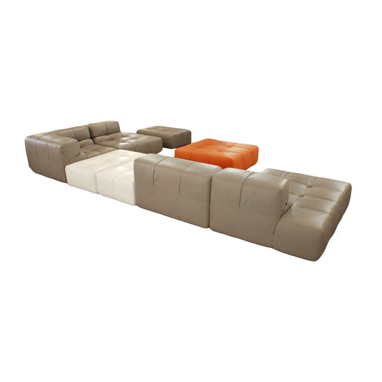 Patricia Urquiola Quot Tufty Time Quot Leather Sectional Sofa At