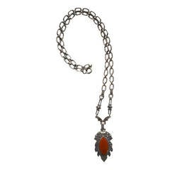 Art Deco Sterling Marcasite Necklace