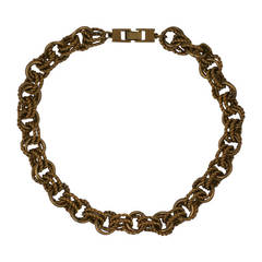 Givenchy Twist Link Chain Necklace