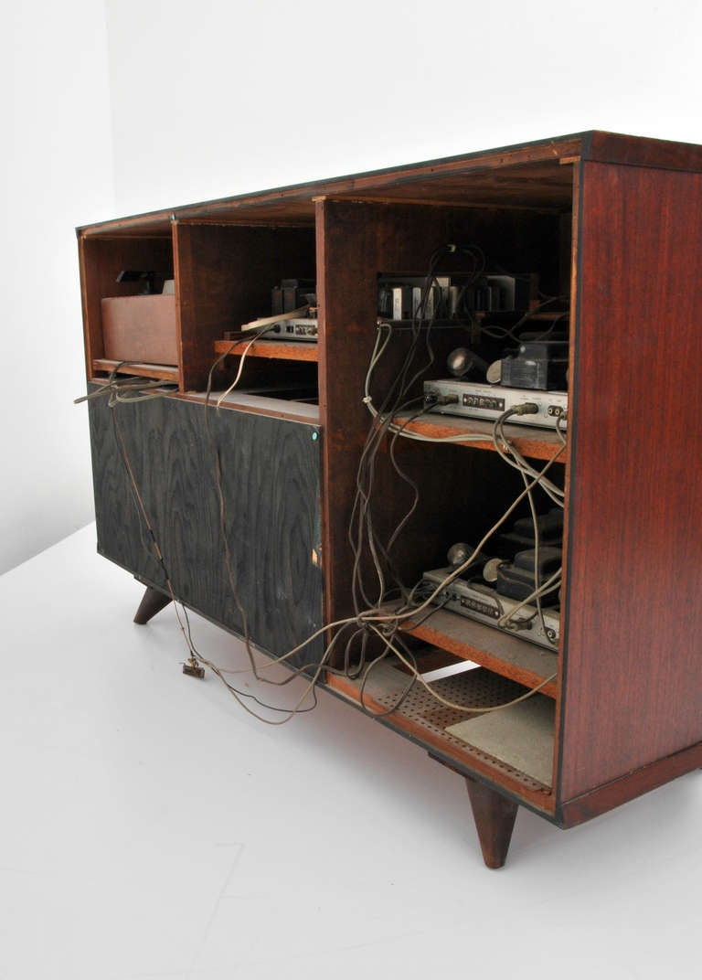 Stereo cabinets