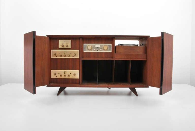 Vladimir Kagan Cabinet Stereo Cabinet At 1stdibs
