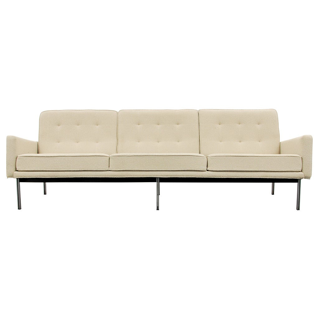 Early florence knoll parallel bar sofa circa 1960 at 1stdibs - Florence knoll sofa gebraucht ...
