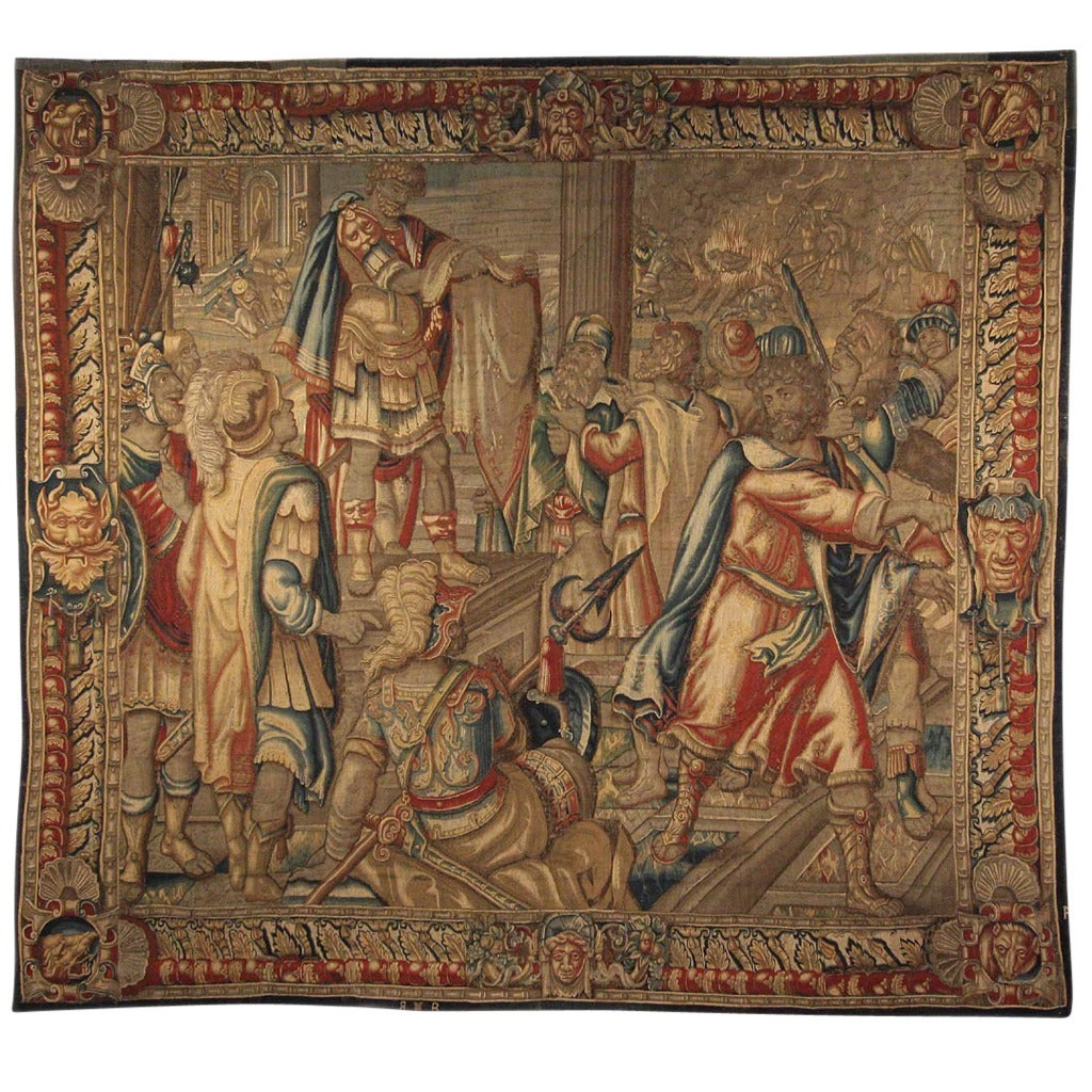 16th Century English Tapestry For Sale