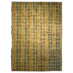 Goat Hair Kilims with Vintage Wool Knotting 9710 9'7 x 13'10