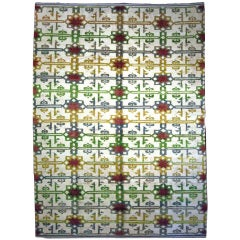 Goat Hair Kilims with Vintage Wool Knotting 9707 8 x 11'4