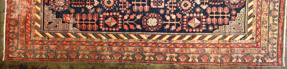 Antique Khotan Rug In Good Condition For Sale In Los Angeles, CA