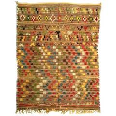 Vintage Colorful Moroccan