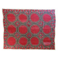 Heavy Embroidered Suzani