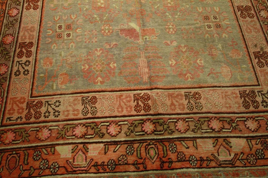 Antique Samarkand Rug #2282 6'6 x 12'9 image 3