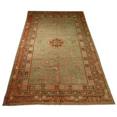 Antique Samarkand Rug #2282 6'6 x 12'9 thumbnail 1