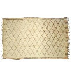 Vintage Moroccan Rug 9600 6'1 x 11'1