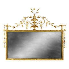 Over mantel Neo-classical Mirror